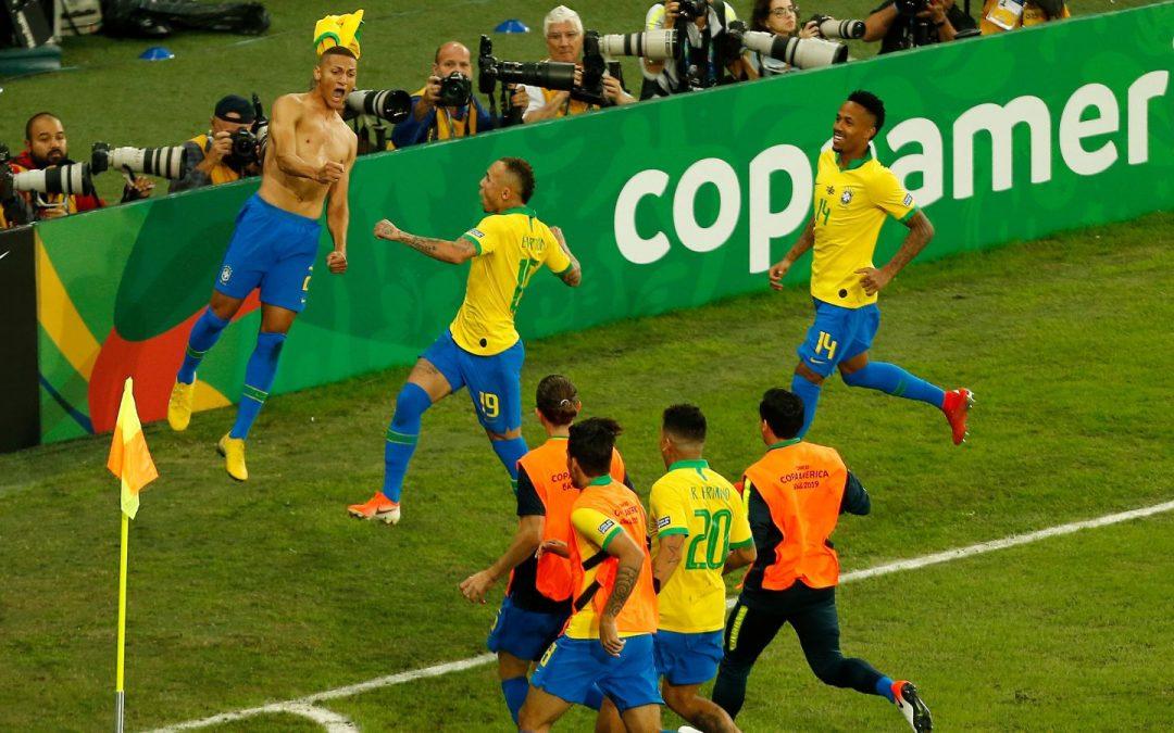 Brazília – Peru (Brazília gólja: 2,5 felett) 2,62