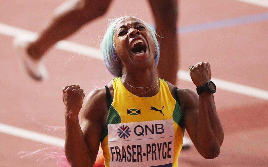 atlétika VB női 100 m (nyerő idő: 10.74 vagy jobb) 1,85