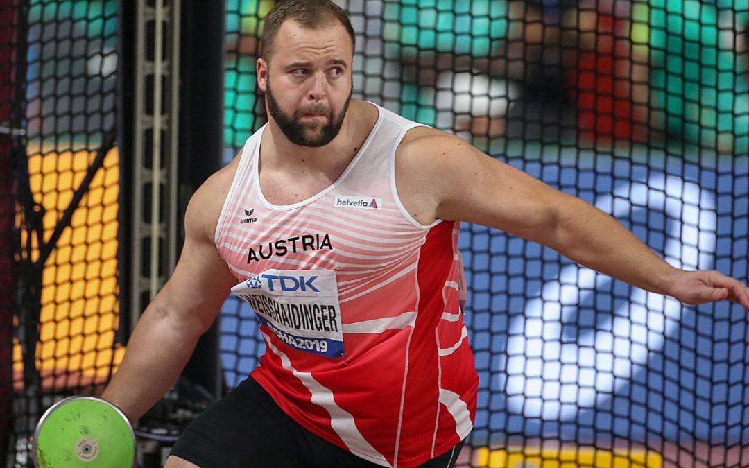 atlétika VB férfi diszkoszvetés (Weisshaidinger 1-3. helyen végez) 3,50