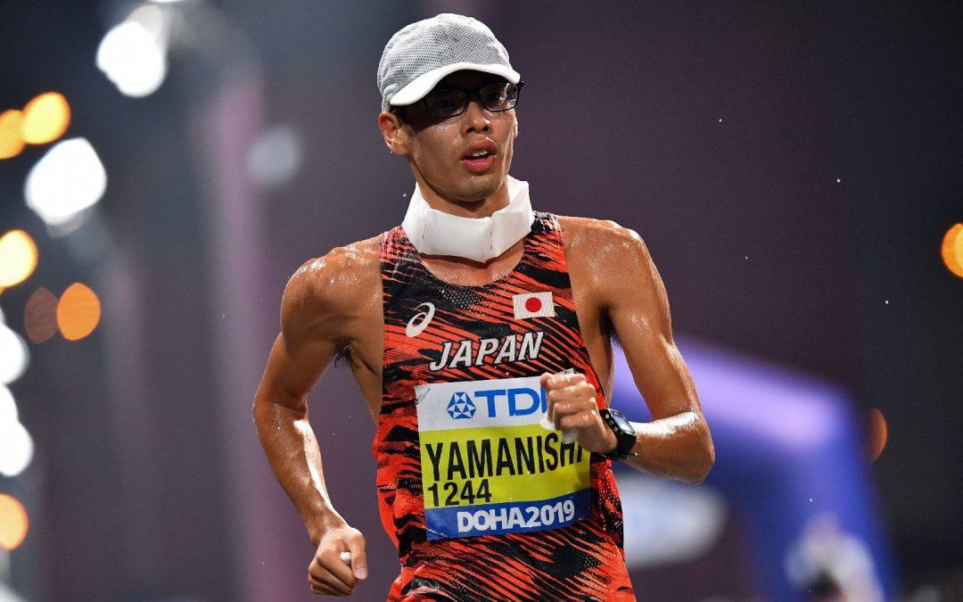 atlétika VB férfi 20 km-es gyaloglás (végső győztes: Yamanishi) 12,00