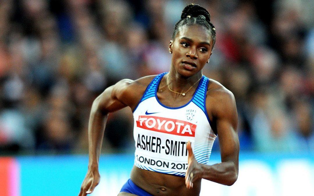 atlétika VB női 100 m (versenypárosítás: Asher-Smith – Ta Lou) H 1,65