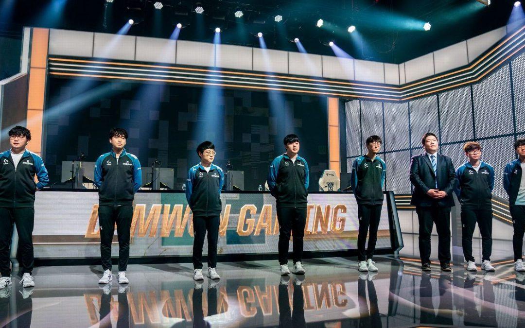 LoL VB D csoport győztese (Damwon) 2,20