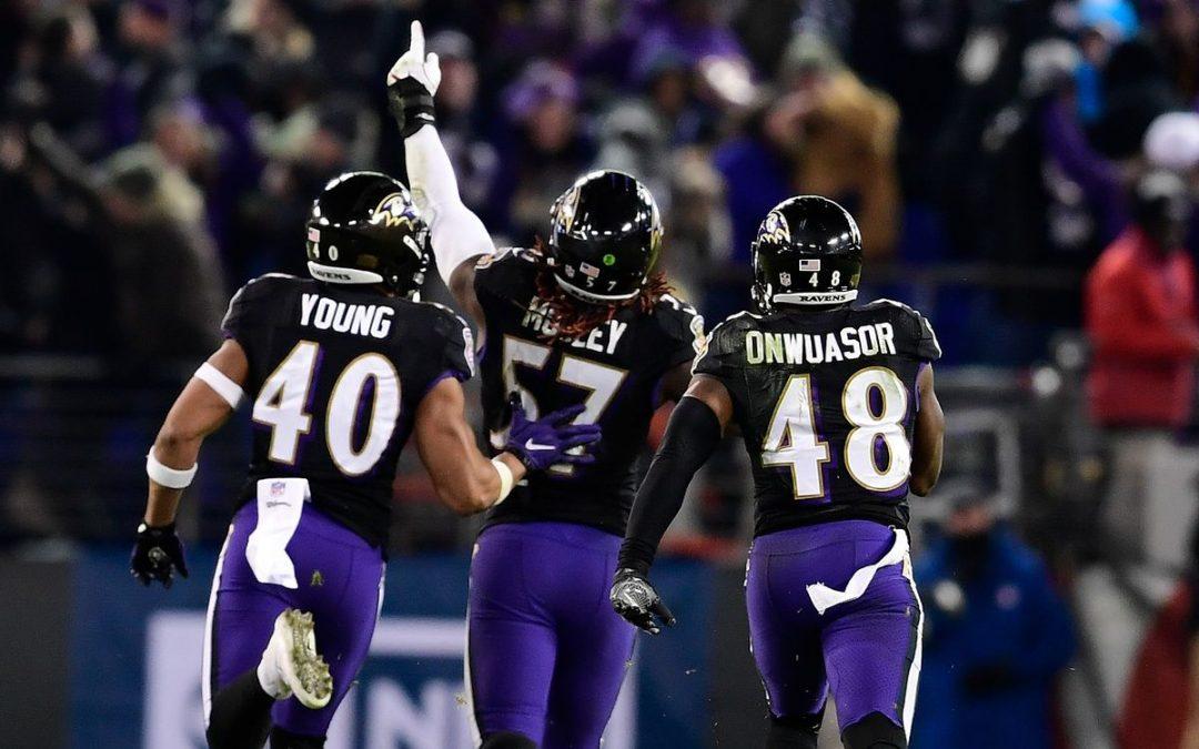 Los Angeles Rams – Baltimore Ravens (AH -2.5) V 1.72