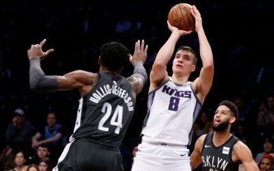 Los Angeles Lakers – Sacramento Kings (B. Bogdanovic pontjai, lepattanói és gólpasszai: 25,5 felett) 1,83