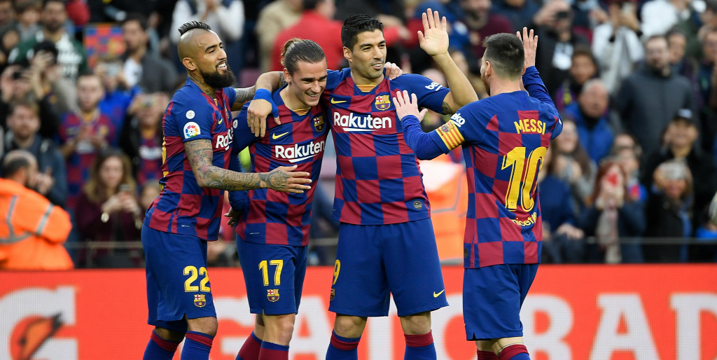 Barcelona – Alaves (Barcelona gólja: 3,5 felett) 2,50