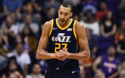 Memphis Grizzlies – Utah Jazz (R. Gobert pontjai, lepattanói és gólpasszai: 27,5 felett) 2,00