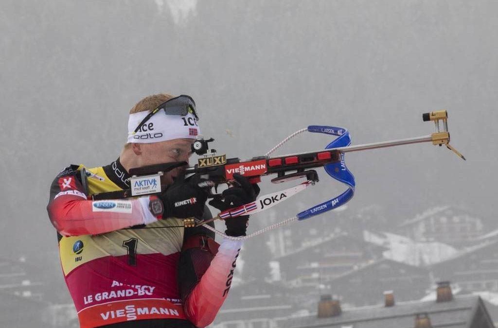 biatlon VB, Antholz – 15 km-es tömegrajtos verseny (végső győztes: J. Boe) 2,50