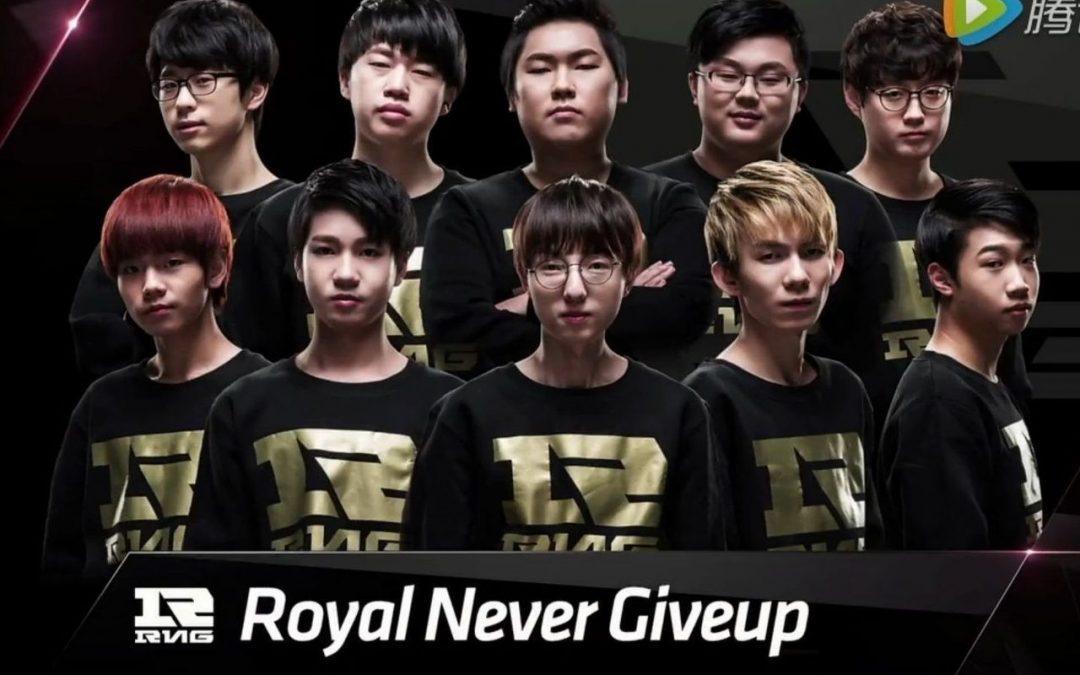 Royal Never Give Up – JD Gaming (2,5 map felett) 2,00